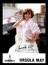 Ursula May Autogrammkarte Original Signiert ## BC 117057