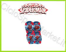 Ginocchiere BIMBO BAMBINO Spiderman Cartoni ideale Bicicletta / Skate / Baseball