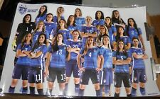 2016 U.S. OLYMPIC WOMEN'S SOCCER TEAM  POSTER - just team photo laminated -24x36