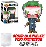Funko POP! DC Heroes ~ JOKER (DEATH OF THE FAMILY) VINYL FIGURE w/Protector Case