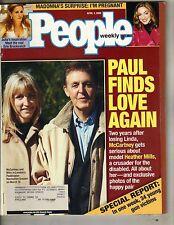 Paul Mccartney Beatles Personas Cargador 4/3/00 Madonna Pregnant Erin