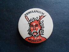 Vintage Verulamium Museum Roman Great Britain Souvenir Pinback Button
