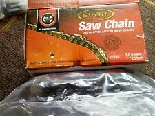 25ft Foot Roll of Chainsaw Chain  325 063  semil Chisel Suits selected Stihl etc
