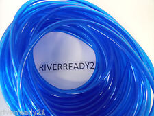 "1/4"" I.D. Blue Fuel-Gas-Line-Hose 3/8"" O.D. PWC Motorcycle Jet-Ski Sold x Foot"