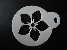 Laser cut small forget me not design cake,craft & face painting stencil