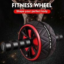 New listing Exercise Toning Ab Roller Abdominal Wheel Fitness Arms Workout Gym Cor