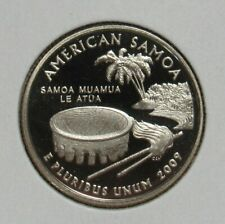 2009 S Clad Proof American Samoa Quarter