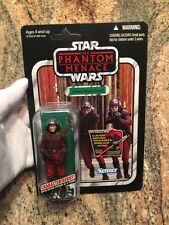 STAR WARS The Phantom Menace NABOO ROYAL GUARD Figure # VC83 ©2012 NEW Unpunched