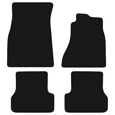 Audi A6 Avant and Saloon (C7) 2011 - 2017 Black Floor Tailored Rubber Car Mats