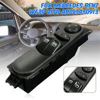 Interrupteur Commande Lève-Vitre pour Mercedes-Benz W639 Vito 03-15 A6395450913