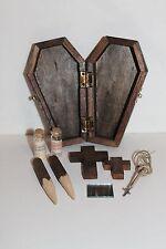 Vampire Killing Slayer Hunter Kit Coffin Halloween Buffy Twilight Handmade