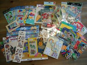Lot of 40+ Scrapbook Stickers Packages Beach Theme Ocean Travel