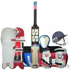 SS Economy Complete Cricket Kit Mens Size with Kashmir Willow Bat