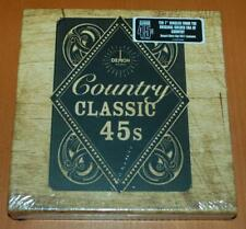 """Country Classic 45s - 2017 Sealed RSD 10 x 7"""" Box Set"""