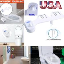 Nozzle Bidet Toilet Seat Attachment Non-Electric Mechanical Fresh Water Spray