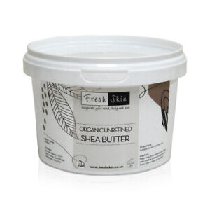 500g Shea Butter Organic - Unrefined, Cold Pressed, 100% Pure, Raw & Natural