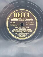 Decca 23284 - Alfred Drake Surrey - Fringe on Top / All Er Nothin' - 78 RPM, 10""