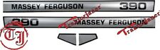 TJ - 5080 pegatina frase para tractor Massey Ferguson MF 390