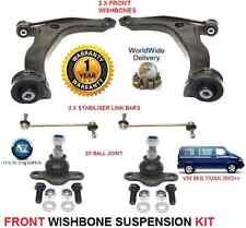 VW MULTIVAN 2003 & GT & gton 2x FORCELLA armi 2x Barre di Collegamento 2x balljoint kit di sospensione