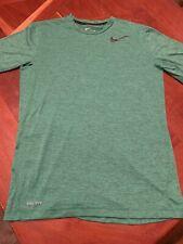 Nike Dri-Fit Green Size Small T-Shirt