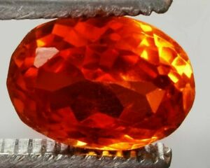 9.85  cts Certified Natural Ceylon Padparadscha Sapphire Oval Cut Gemstones