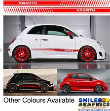 Fiat 500 Abarth Rayas cualquier color-por favor pregunte
