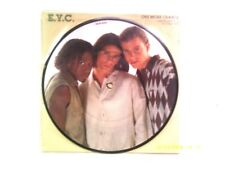 """E.Y.C.. one more chance 7"""" PICTURE DISC SINGLE 1994 N/Comme neuf"""