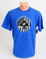 LRG Lifted Research Group Blue Short Sleeve Tee T Shirt Men's NWT