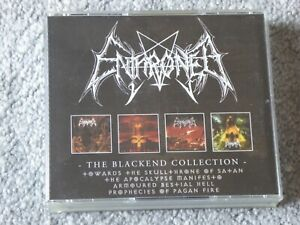 Enthroned - The Blackend Collection (4 x CD) HECATE PROPHECIES OF PAGAN FIRE