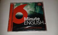6 minute english (science & technology) new and sealed cd from BBC