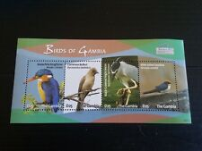 GAMBIA 2009 SG MS5266 BIRDS  MNH (I)