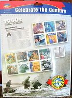 Celebrate the Century 1940s World War II Stamp Col. MINT SEALED #5 in Series