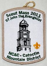 National Capital Area Cncl (MD) Catoctin Mt Dist 2011 Scout Mass Pkt Patch  BSA