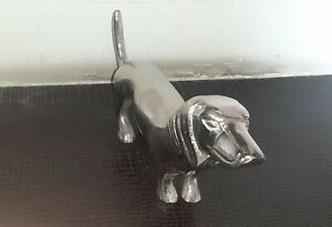 Natural Traditional Style Aluminum Dog Sculptures For Home Decoration