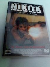 "DVD ""NIKITA DURA DE MATAR"" COMO NUEVO LUC BESSON ANNE PARILLAUD JESN-HUGHES ANGL"