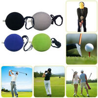 Portable Golf Inflatable Impact Ball Swing Training Aids w/ Lanyard Foldable