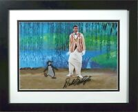 Mary Poppins cel Penguin Art Corner Original Production signed Dick Van Dyke