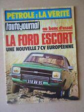 Auto-Journal n°5-75, Ford Escort GL, Polski Fiat 125P Kombi, Polski 1500, Volga