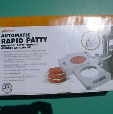 Automatic Universal Rapid Patty Maker with Attachment Hamburger Patty Press