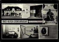 STAVENHAGEN Reuter Stadt 6 alte s/w Ansichten Postkarte Ansichtskarte DDR ~ 1965