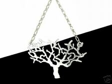 Silvertone Tree of Life Tattoo Style Necklace (Large)