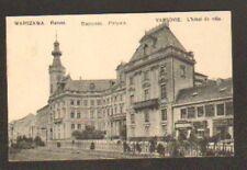 VARSOVIE / WARSZAWA (POLOGNE) HOTEL DE VILLE