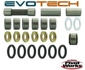 KIT REVISIONE LEVERISMI - LEVERAGGI YAMAHA YZ 80  1999 2000 2001 PIVOT WORKS
