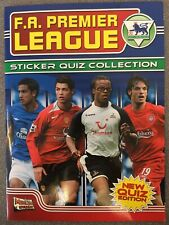 Merlin FA Premier League Sticker Quiz Collection Complete Album 2005 VGC