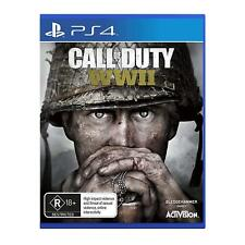 Call Of Duty WWII COD WW2 PlayStation 4 PS4 GAME BRAND NEW FREE POSTAGE