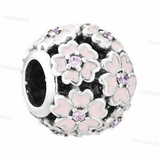 Disney Mickey Minnie European Silver Charms Bead For 925 sterling Bracelet Chain