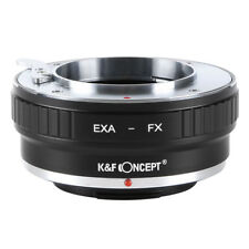 Adapter for Exakta EXA Lens to Fujifilm Fuji FX X mount X-Pro1 X-E1 X-E2 by K&F
