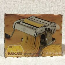 MARCATO Atlas No 150 Pasta Noodle Maker Machine Vintage with Box Made in Italy
