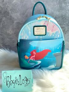 LOUNGEFLY NWT Disney The Little Mermaid Ariel's GROTTO BL EXCL