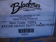 Three 3 X Blackmer Hd Handpump Transfer Pump At210a 34 Drum Barrel 210a 10201